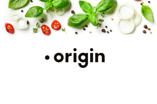 Origin logo design packaging company Melbourne