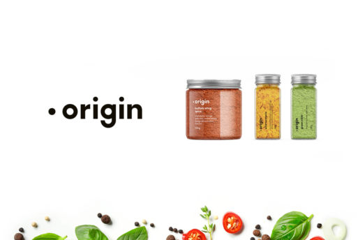 Packaging logo design meloburne spices company