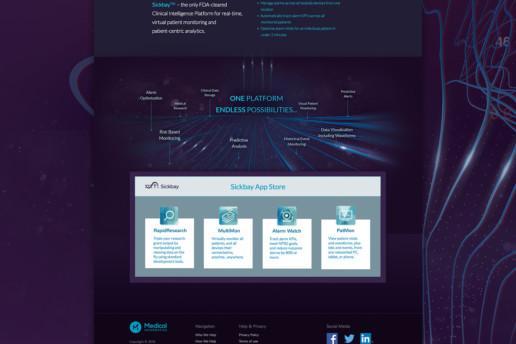 website design health medical freelance