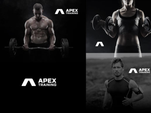 Crossfit professional logo design