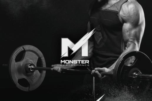 sports supplement logo design