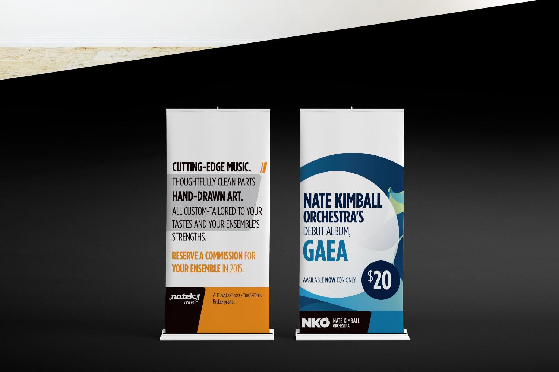 Natek Music Branding Logo Design Chris Koch
