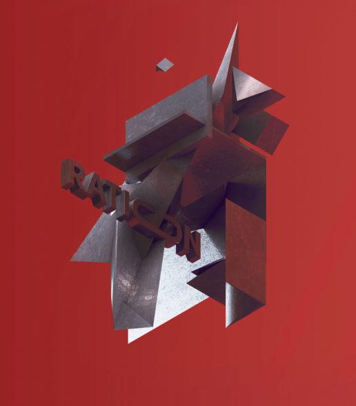 ration abstract cinema4d art geometric isometric