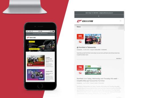 website design australia motorcycle