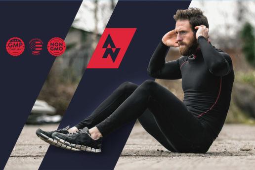 Sports Supplement Nutrition Fat Burn Design Label