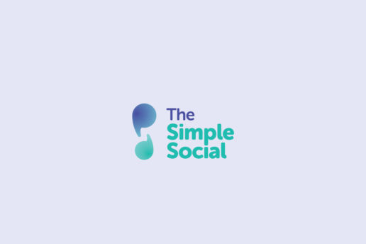 the-simple-social-logo-design-lockup-isolation