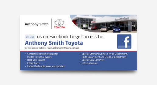 Toyota Car Dealership Flyer Design