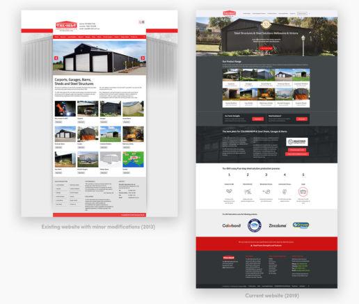 Wordpress website design comparison
