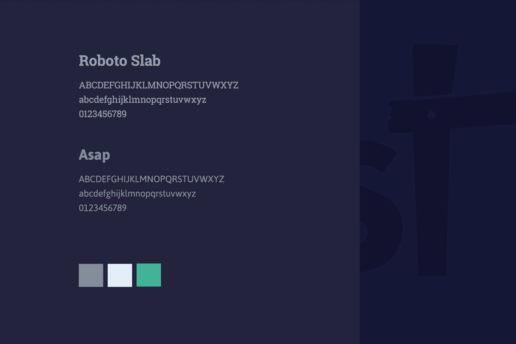 Type font Roboto usage