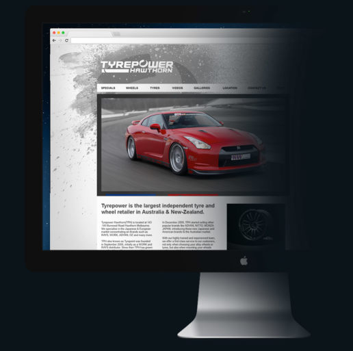 Car Dealer Parts Accessories Website Design