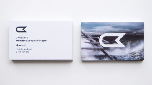 Business Card Design Modern Print