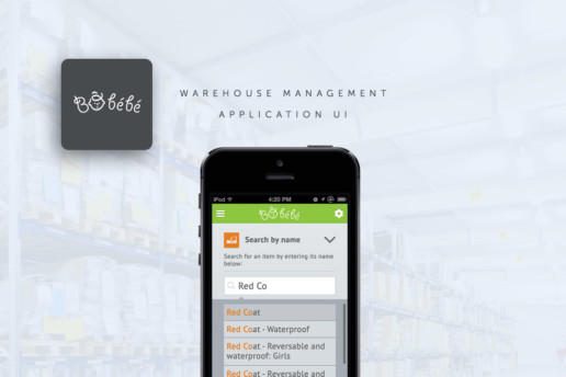warehouse management app design
