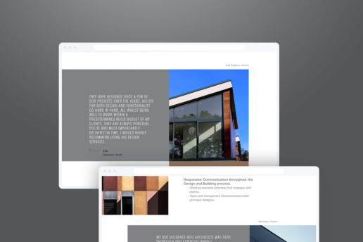 Website Design Architecture black white grey Melbourne