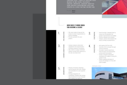 Website design contemporary architecture
