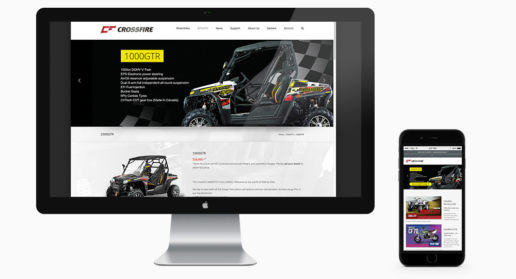Website Design Motorcycle and ATV