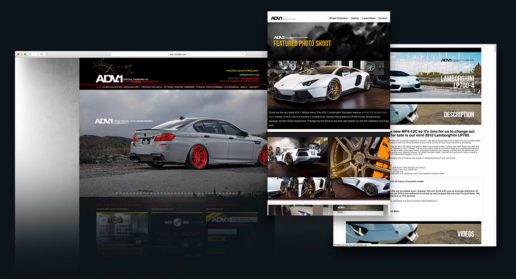 Website Car and Automotive Design